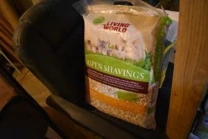 chinchilla bedding aspen shavings