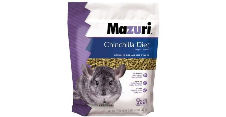 Mazuri Chinchilla Diet