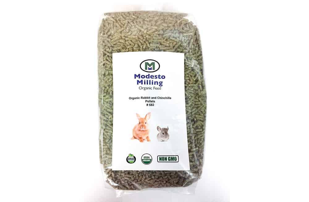 Modesto Milling Organic Non-GMO Chinchilla Pellets